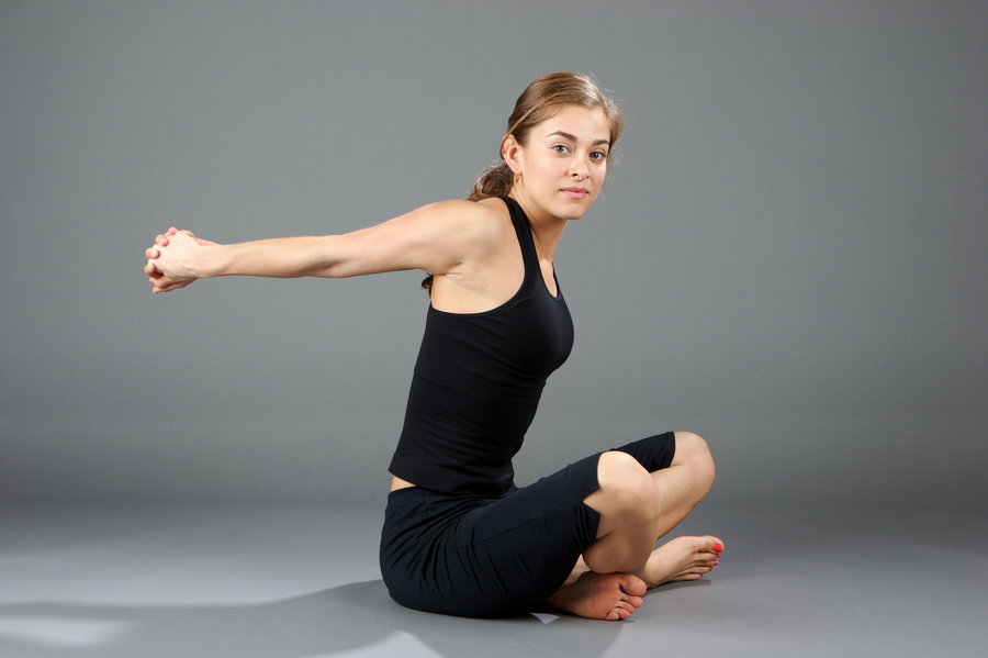 Pec Stretch to help with neck, chest and shoulder pain give by Chiropractor Brisbane CBD